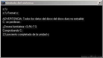 Es cierto que puedo formatear el disco y luego recuperar mi información?