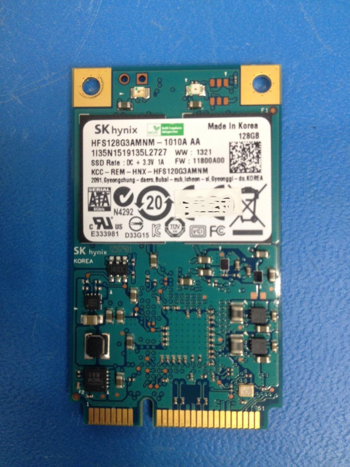 Recuperación de datos de una memoria SSD