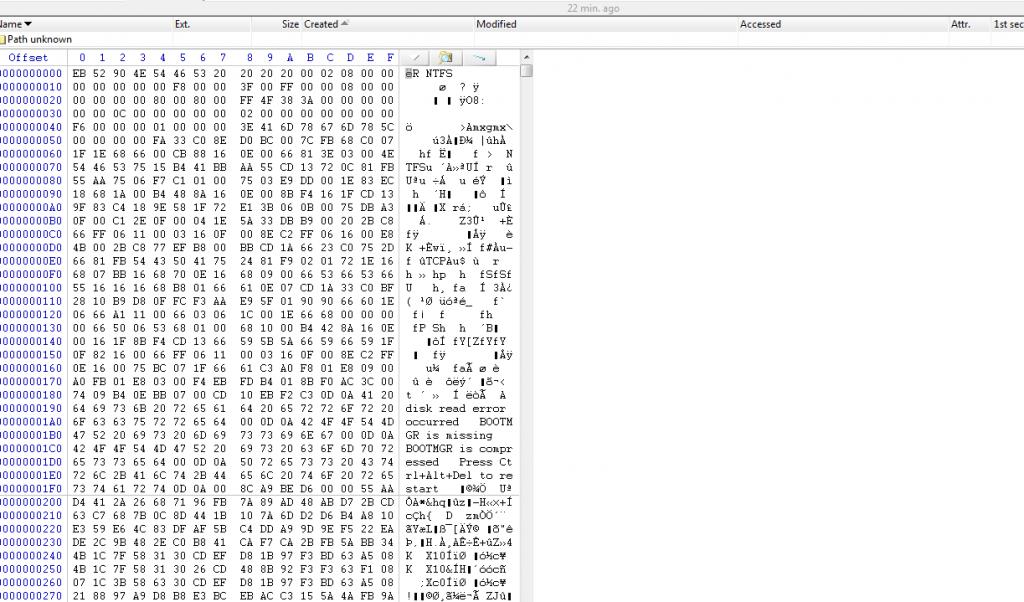 Bootsectordecrypt
